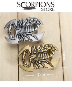 Belt Buckle Scorpion size