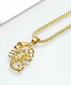 Gold Scorpion Necklace Scorpions Store
