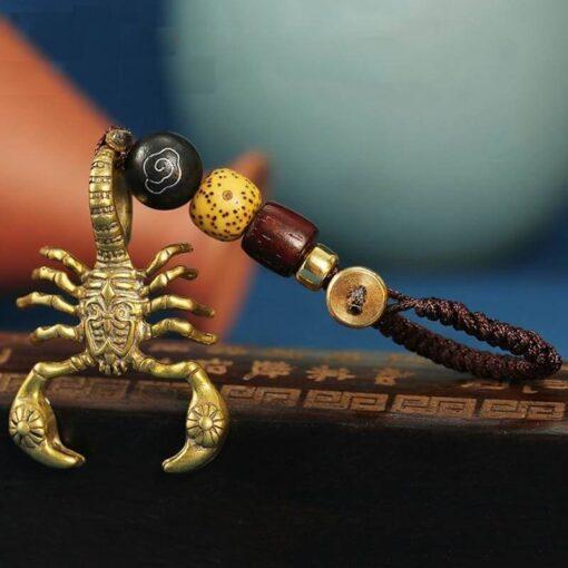 Metal Scorpion Keychain scorpions store