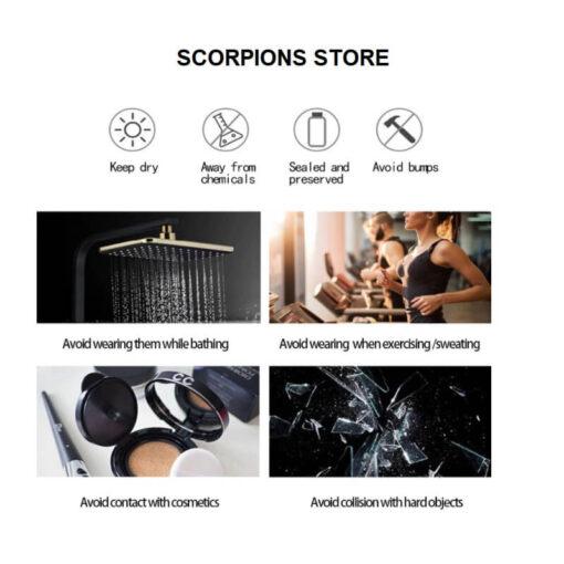 Scopion Necklace Caution Intructions