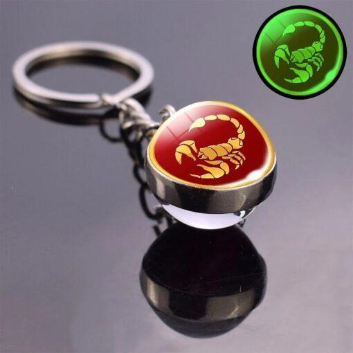 Scorpio Astro Keyring