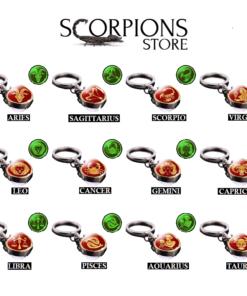 Scorpio Astro Keyring Collection
