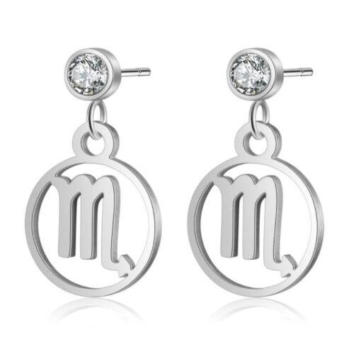 Scorpio Birthstone Earrings