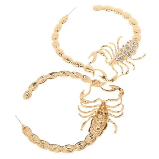 Scorpio Hoop Earrings Stylish