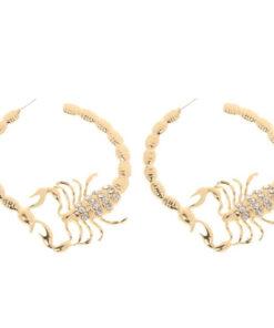 Scorpio Hoop Earrings women