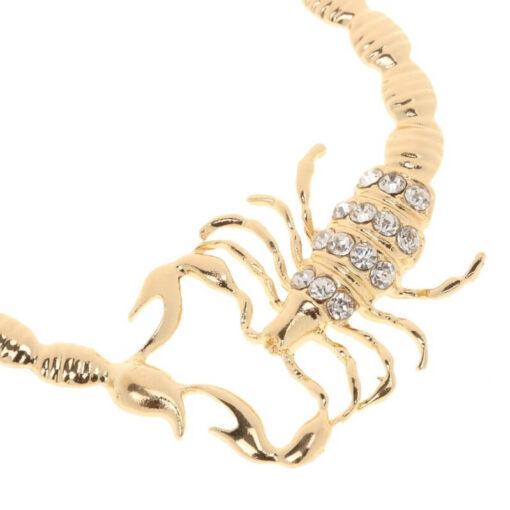 Scorpio Hoop Earrings zircon