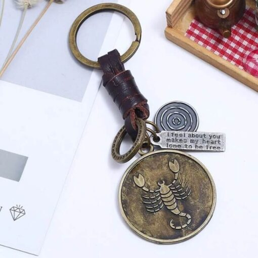 Scorpio Keychain