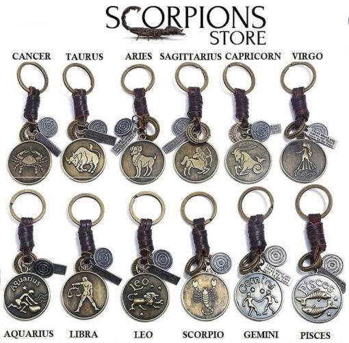 Scorpio Keychain Zinc Cheap