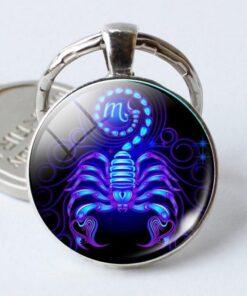 Scorpio Keyring Zinc Cheap