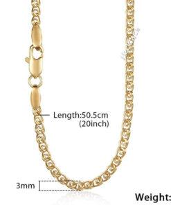 Scorpio Pendant Chain Gold Color