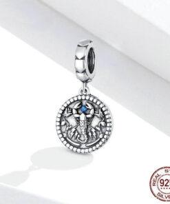 Scorpio Pendant Silver Real