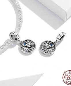 Scorpio Pendant Silver exemple