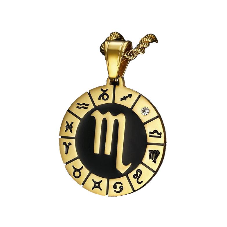 Scorpio Symbol Necklace