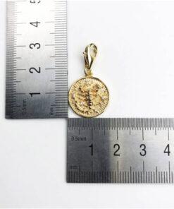 Scorpio Symbol Pendant Size