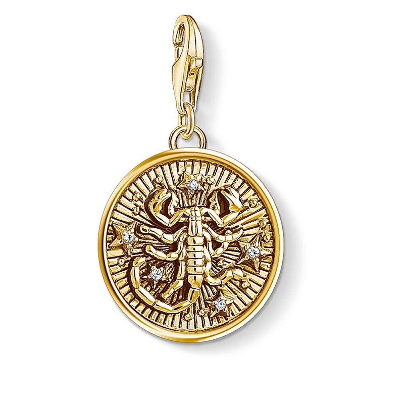 Scorpio Symbol Pendant