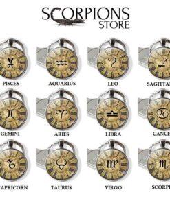 Scorpio Zodiac Keychain Collection