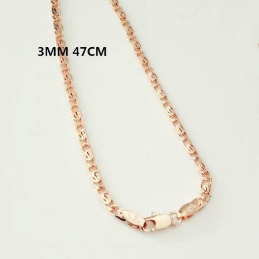 Scorpio Zodiac Pendant Necklace 3mm 47cm