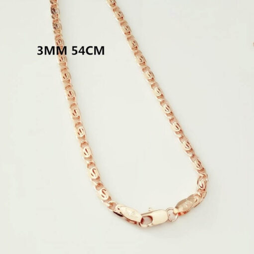Scorpio Zodiac Pendant Necklace 3mm 54cm