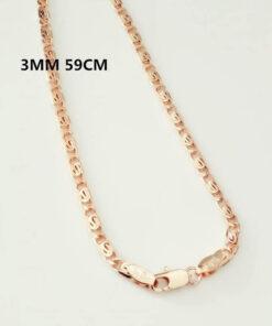 Scorpio Zodiac Pendant Necklace 3mm 59cm