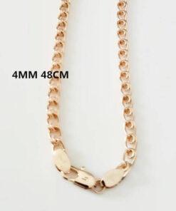 Scorpio Zodiac Pendant Necklace 4mm 48cm