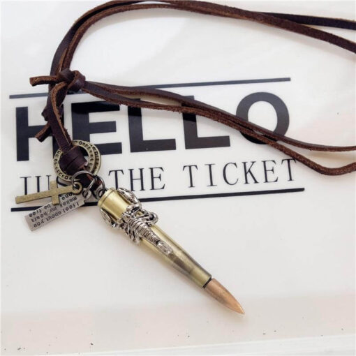 Brown Scorpion Bullet Necklace Scorpions Store