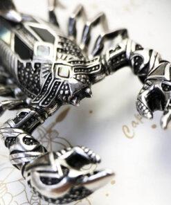 Scorpion Charm Pendant Silver