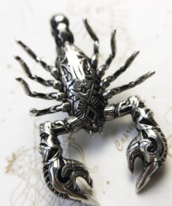 Scorpion Charm Pendant back