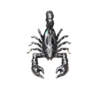 Scorpion Charm Pendant
