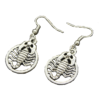 Scorpion Earrings Cheap Siver Color-