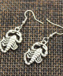 Scorpion Earrings Women Silver Color Scorpions Store