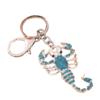 Scorpion Keyring Blue Shiny