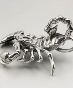 Scorpion Necklace Men Stainless Steel
