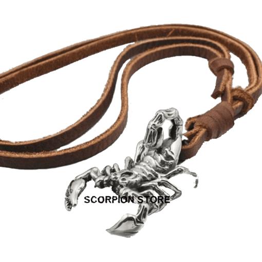Scorpion Necklace Men Style_