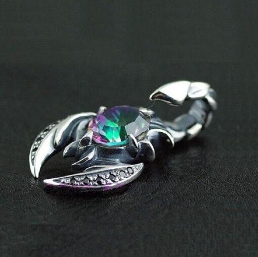 Scorpion Pendant Necklace_