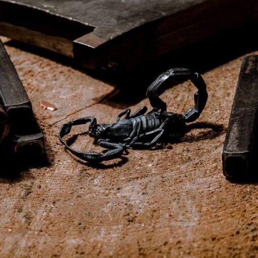 Scorpion Pendant Silver unreal