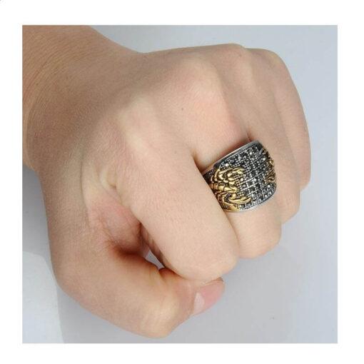 Scorpion Ring Hand