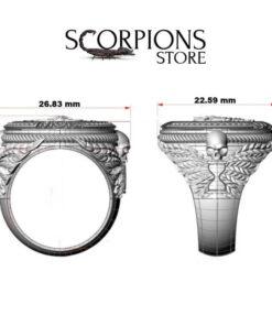 Scorpion Ring Men size