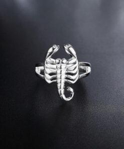 Scorpion Ring Silver