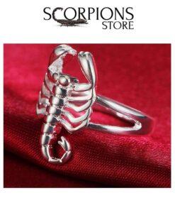 Scorpion Ring Silver Scorpions Store