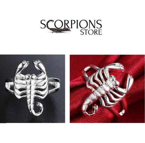 Scorpion Ring Silver quality