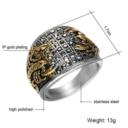 Scorpion Ring size