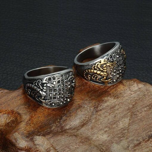 Scorpion Rings Collection