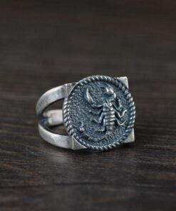 Silver Scorpion Ring
