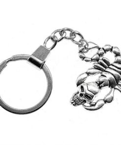 Skull Scorpion Keychain Cheap Keyring