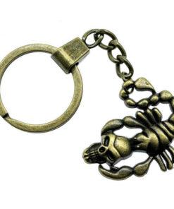 Skull Scorpion Keychain Scorpions Store