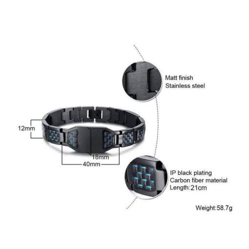 Stainless Steel Scorpion Bracelet size