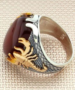 Sterling Silver Scorpion Ring 925