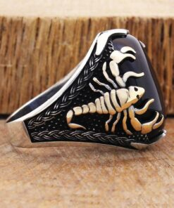 Sterling Silver Scorpion Ring Scorpions Store