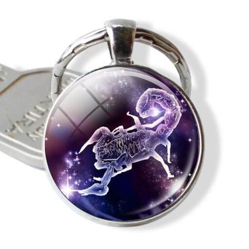 Stylish Scorpio Keychain