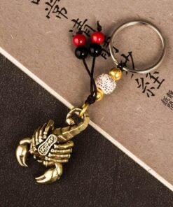 Supreme Scorpion Keychain